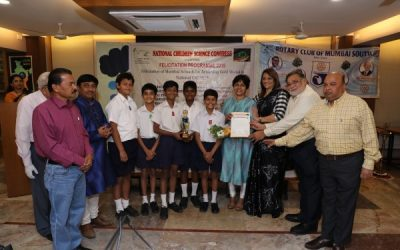 Young Scientists of Mumbai Felicitated by Rotary Club