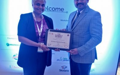 DBHS Matunga receives award at ELETS Leadership summit!