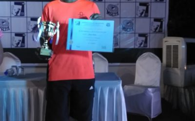 Tennis – Master Shivam Kadam of std X-B awarded the MSLT Dr. Apte Memorial Scholarship 2018