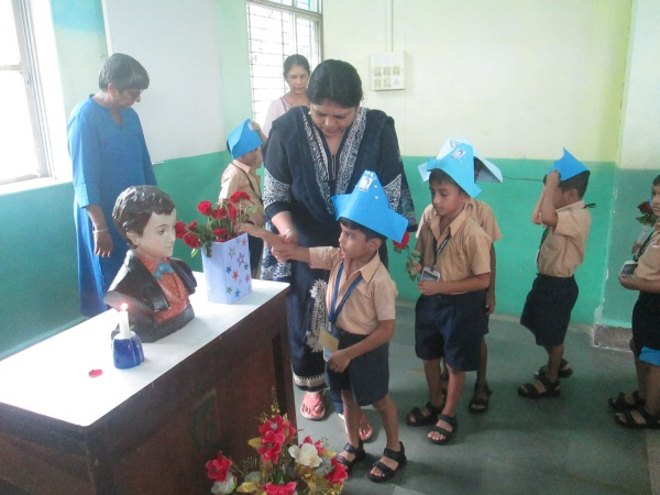 Feast of St  Dominic Savio-Kg section relives the deeds of