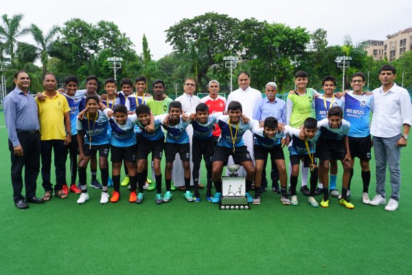 U-16 school football team claims MSSA Div I title for the 20th time!