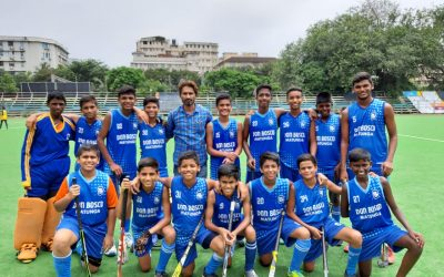 u-15 hockey team -Nehru cup: Mumbai city champions