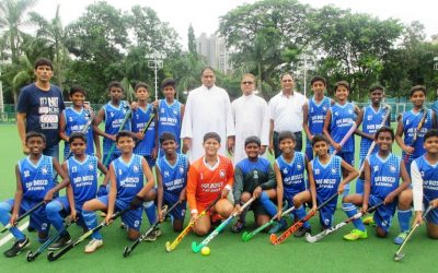 School u-14 hockey team-City and Zonal champions!