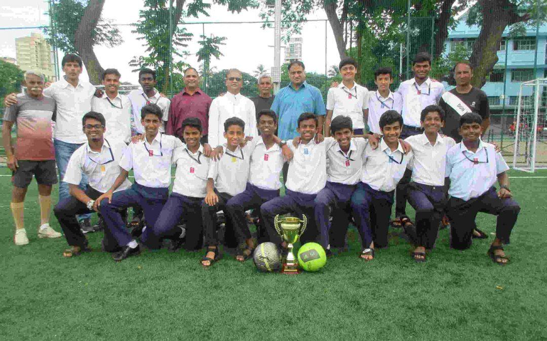 u-17 football team wins DSO Shalay city championship