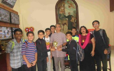 School group wins miming competition at Amar Media Fest