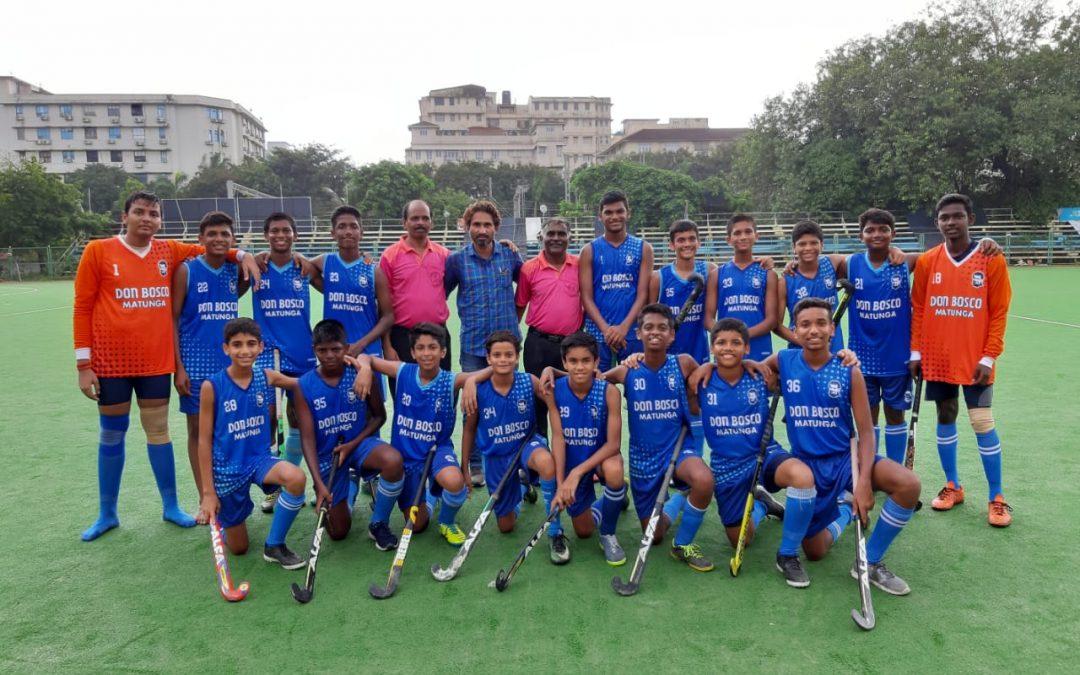 u-17 hockey team are Mumbai city champions