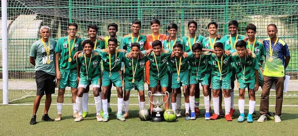 Three titles in as many tournaments for our u-16 football team-Ahmed Sailor Cup champs again!