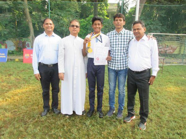 Aarya wins National Bronze in Long jump