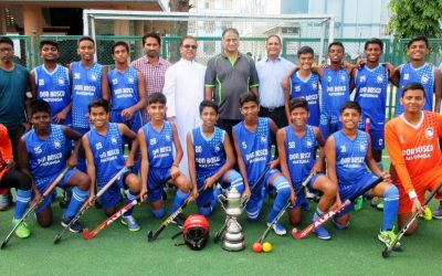 U-16 hockey team dethrone Stanislaus to claim the Ahmed Sailor trophy