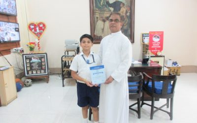 Ayaan Khan and Vikramaditya Nanche impress at Homibhaba exams and Maths concept exams respectively!