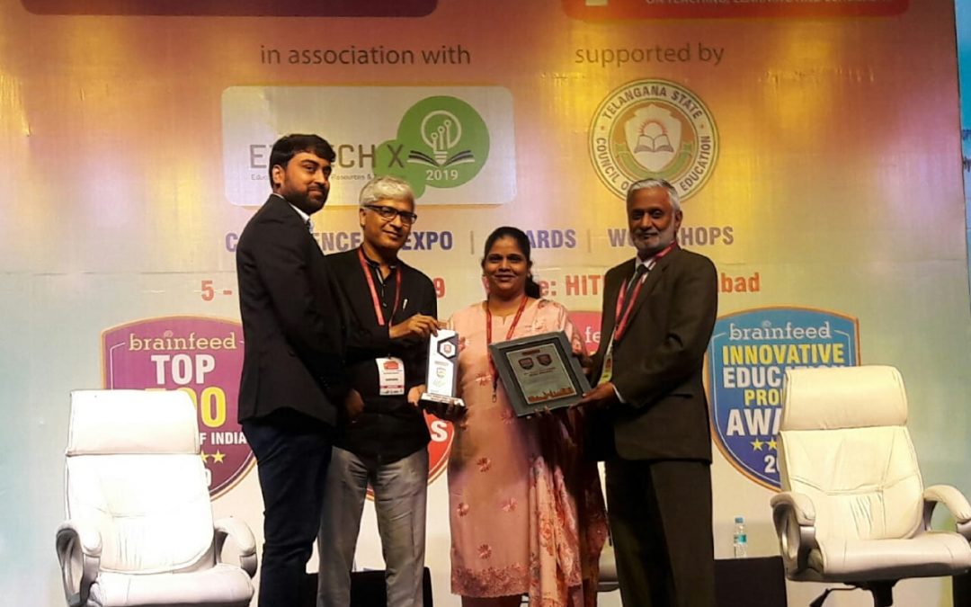 School receives Brainfeed School excellence awards for the third time in succession