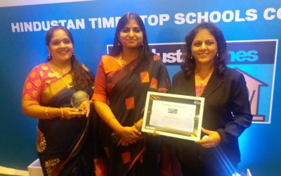 DBHS Matunga awarded at the the Hindustan Times top schools Conclave 2019