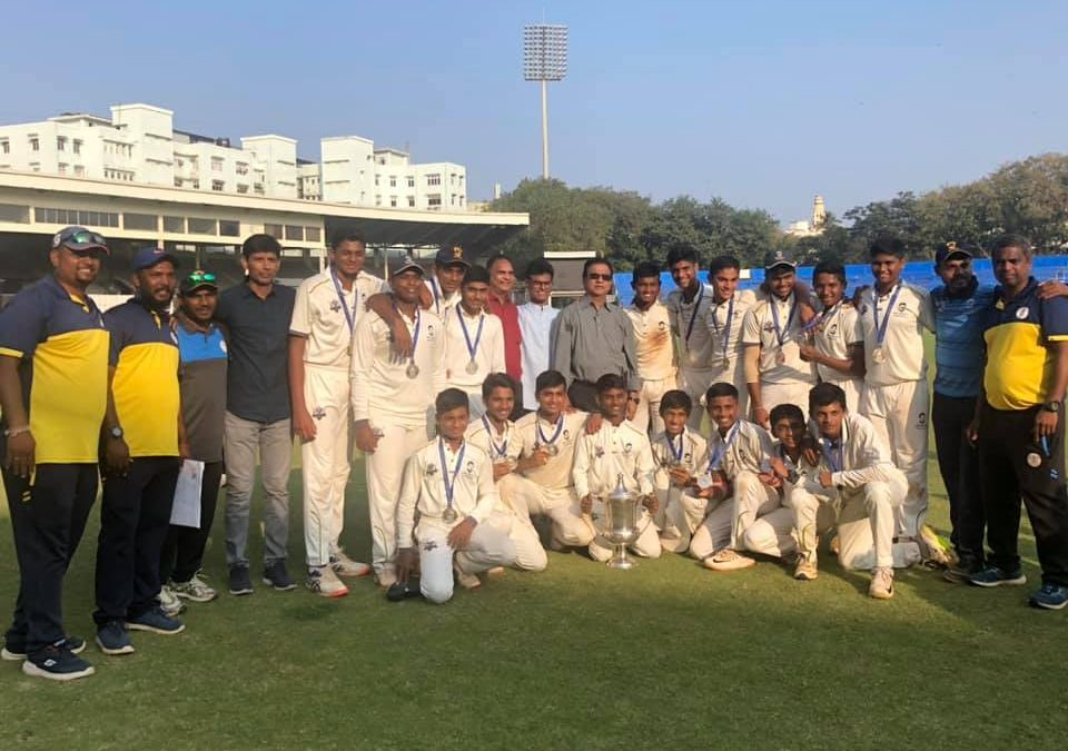 Cricket-Harris Shield runners-up