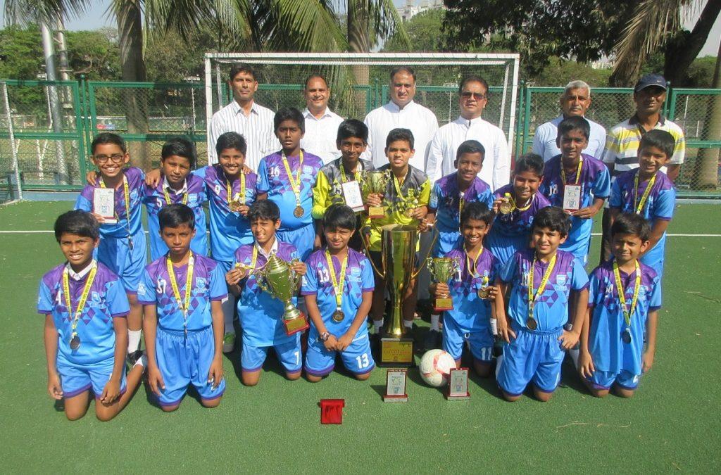 u-10 and u-12 football teams are MDFA champions!