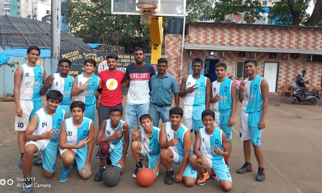School u-17 basketball team is Mumbai city champs, DSO Division runners-up