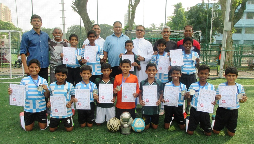 MSSA u-12 football team claims the runners-up trophy!