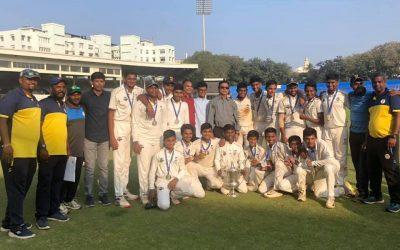 Cricket-Harris Shield runners-up